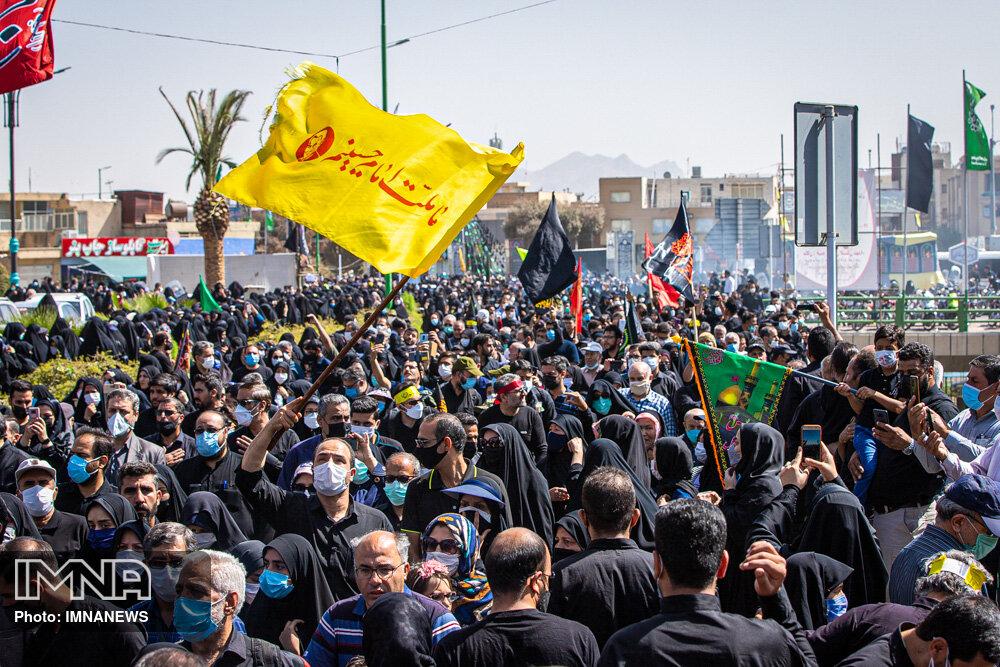 همایش پیاده روی جاماندگان اربعین در اصفهان