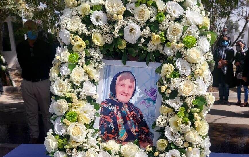 """پیکر مادر شهید """"ویگن گاراپیدی"""" به خاک سپرده شد"""