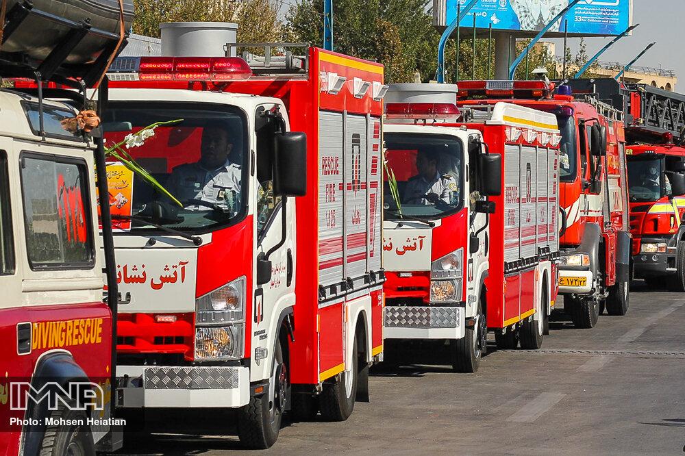 آتش نشانان شوشتری به ۹۳۰ عملیات اعزام شدند
