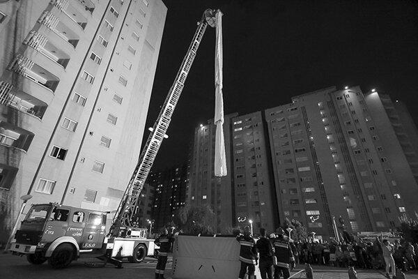 مانور امداد نجات به مناسبت روز آتش نشانی و ایمنی - مشهد