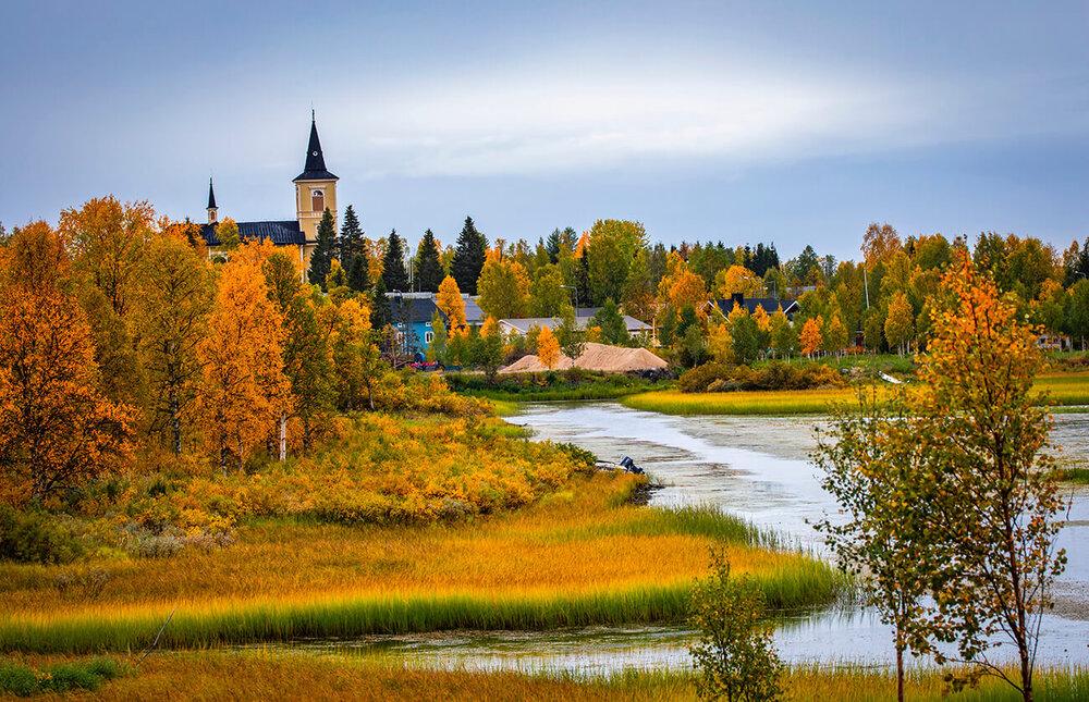 پاییزهای فنلاند به روایت تصویر