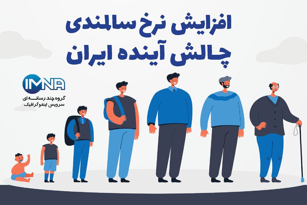 افزایش نرخ سالمندی؛ چالش آینده ایران+ جغرافیای سالمندی در کشور