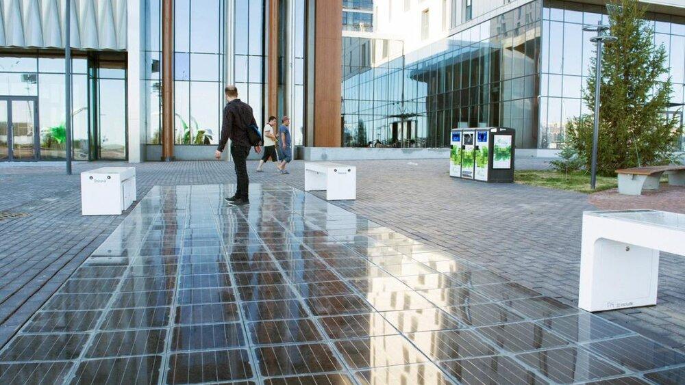 احداث مسیر پیاده روی خورشیدی در مالت