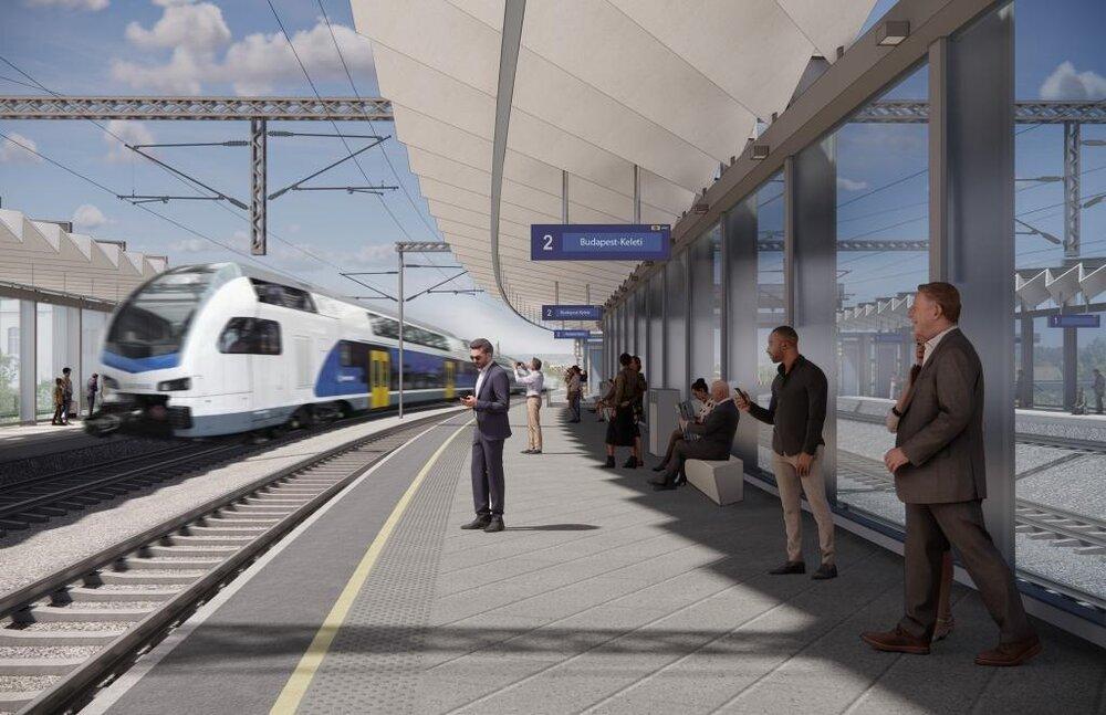 تغییر وضعیت ترافیکی مجارستان با احداث ایستگاه راهآهن جدید