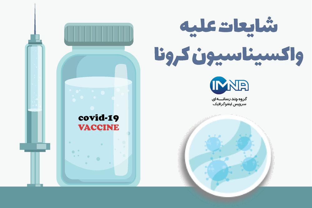 شایعات علیه واکسیناسیون کرونا