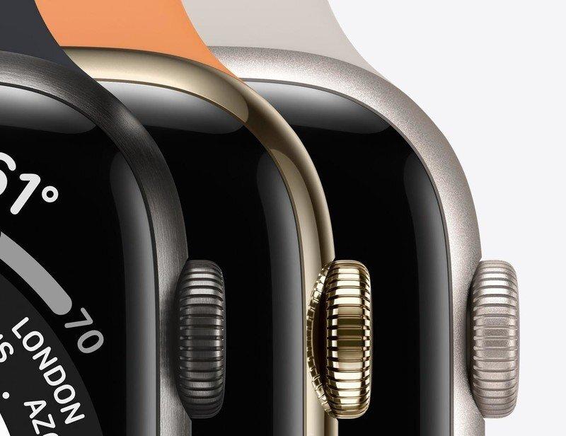 عرضه Apple Watch Series 8 در سه اندازه