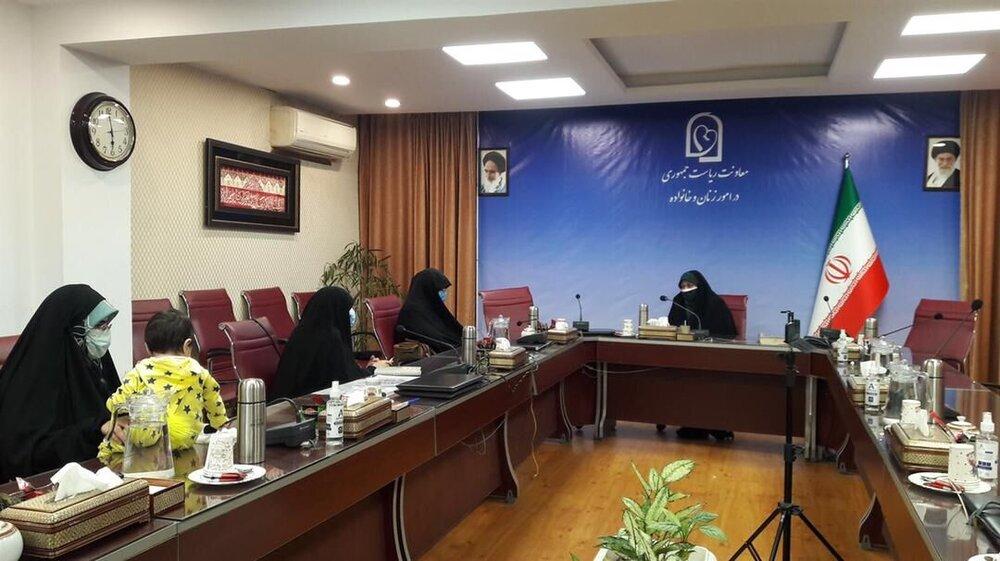 آغاز به کار چهار کارگروه تخصصی در معاونت امور زنان رئیس جمهور