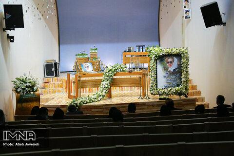مراسم یادبود شیوا خسروی وکیل دادگستری