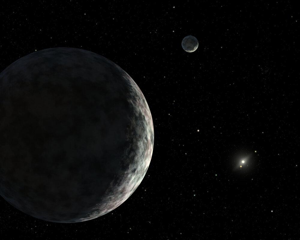 امشب شاهد تقابل سیارک اریس و خورشید باشید