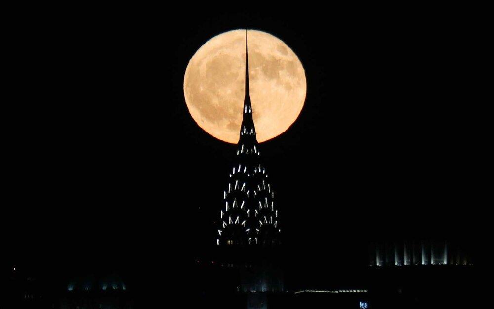 امشب شاهد ماه کامل شکارچی باشید
