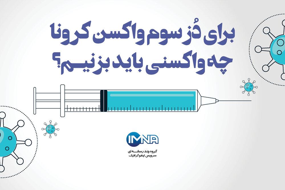 برای دُز سوم چه واکسنی بزنیم؟