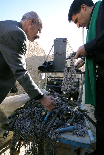 مراسم عاشورای حسینی در روستای فشارک اصفهان