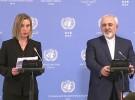 قرائت متن بیانیه مشترک 5+1 از زبان وزیرامورخارجه کشورمان