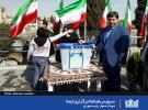شهردار اصفهان پای صندوق رای/فیلم