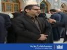 حضور فرماندار اصفهان در کنار شعب اخذ رای/فیلم