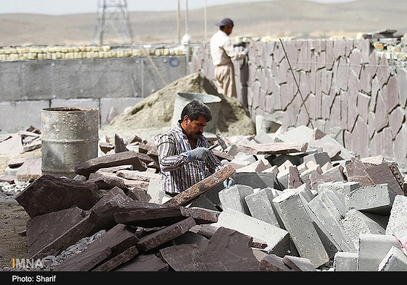 پیشرفت مرکز همایش های بین المللی اصفهان - مرداد 1395