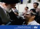 ديدار جانبازی با رهبر انقلاب که پس از ۳۳سال به آرزویش رسيد
