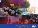 تشییع و تدفین پنج شهید گمنام   در باغ غدیراصفهان