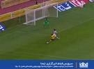 خلاصه دیدار دو تیم  سپاهان - سایپا مرحله یک چهارم نهایی جام حذفی فصل 96-95
