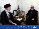 حضور رهبر انقلاب در خانه شهدای مسیحی به مناسبت ولادت حضرت عیسی علیهالسلام
