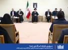 دیدار نخبگان و دانشجویان بسیجی مدالآور دانشگاه شریف با رهبر انقلاب