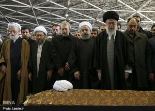 قدردانی خانواده هاشمی از رهبری و مردم