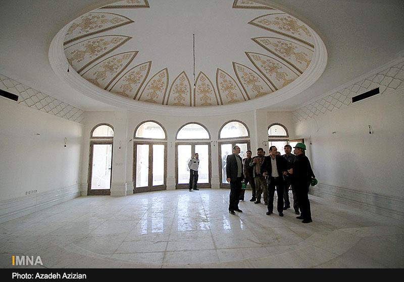 پیشرفت مرکز همایش های بین المللی اصفهان - بهمن 1395