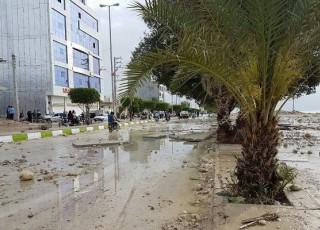 سونامی در بندر دیر استان بوشهر خسارت شدید برجاگذاشت+ عکس/