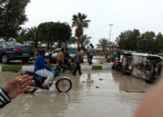 20 نفر در سونامی بوشهر راهی بیمارستان شدند