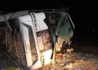 واژگونی اتوبوس در محور یاسوج به اصفهان/ دو نفر کشته شدند